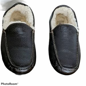Ugg leather slippers